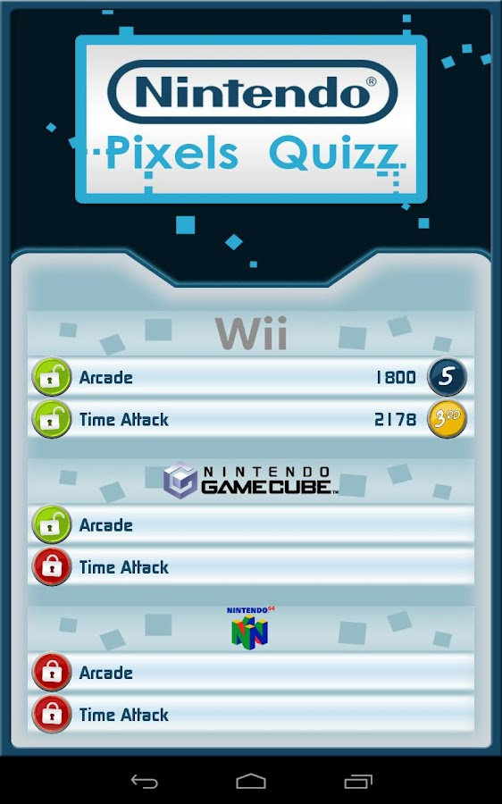 Nintendo Pixel Quiz - screenshot