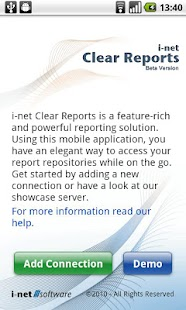 Clear Reports - screenshot thumbnail
