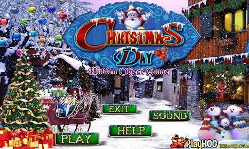 Christmas Day - Hidden Objects