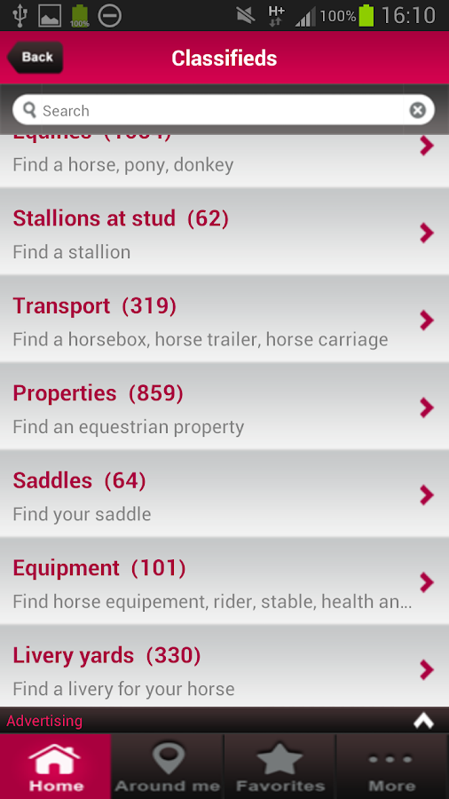 Equirodi horse marketplace android apps on google play for Where can i go horseback riding near me