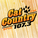 Cat Country 107.3 logo