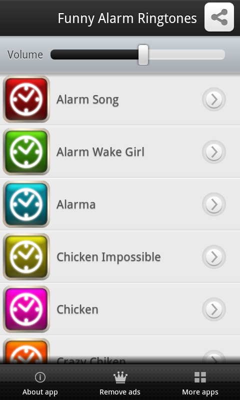 Funny Alarm Ringtones - screenshot