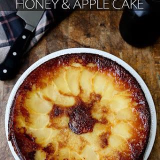 Olive Oil, Honey & Apple Cake.