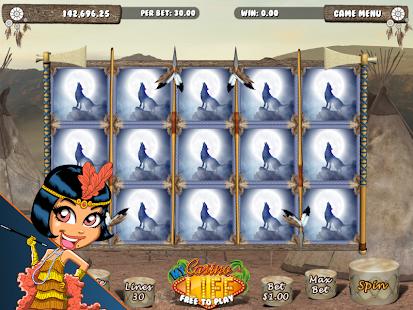 Wolf Casino Slot Machine