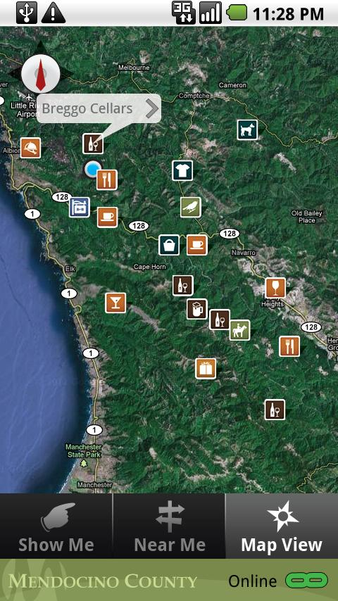 Mendocino County- screenshot