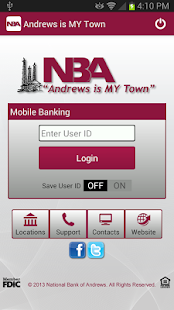 National Bank of Andrews - screenshot thumbnail