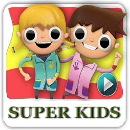 SUPER KIDS VIDEOS AND MOVIES LOGO-APP點子