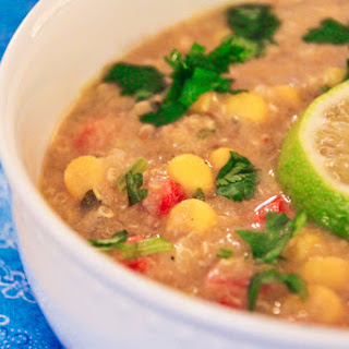 Creamy Corn and Quinoa Chowder