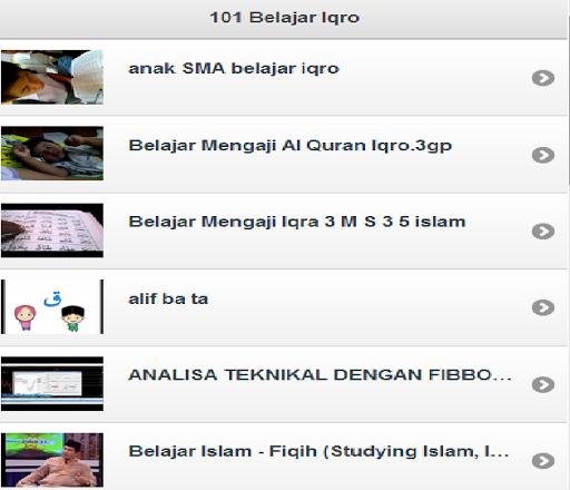 101 Belajar Iqro