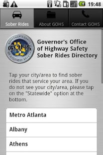 Drive Sober, Georgia--Free & S - screenshot thumbnail