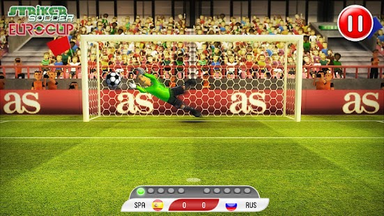 Striker Soccer Euro 2012 - screenshot thumbnail