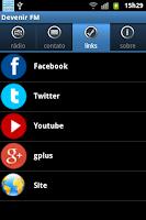 Screenshot of Devenir Fm