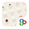 Simple White GO Launcher Theme icon