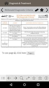 MS Diagnosis and Management - screenshot thumbnail