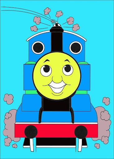 Coloring Book Thomas
