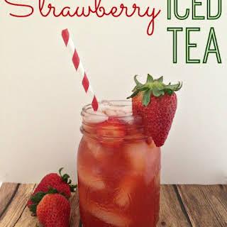 Strawberry Iced Tea.