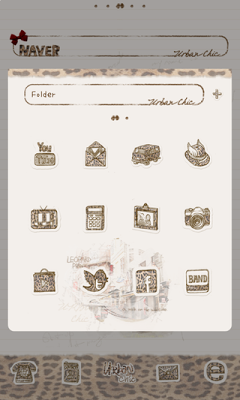 urbanchic(hopi2)dodol launcher - screenshot