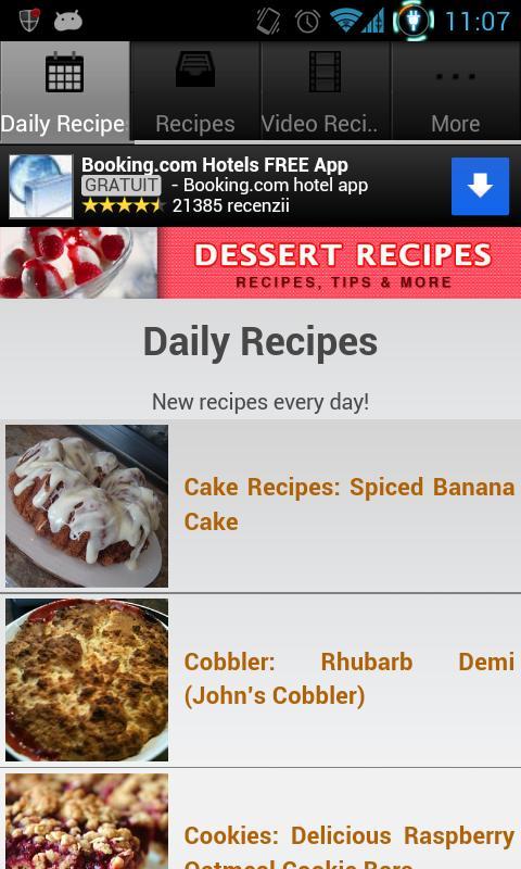 Dessert recipes revenue download estimates google play store screenshots forumfinder Gallery