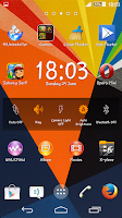 Screenshot of Zig Zag Xperien Theme