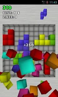 TetroCrate 3D: Brick Game - screenshot thumbnail
