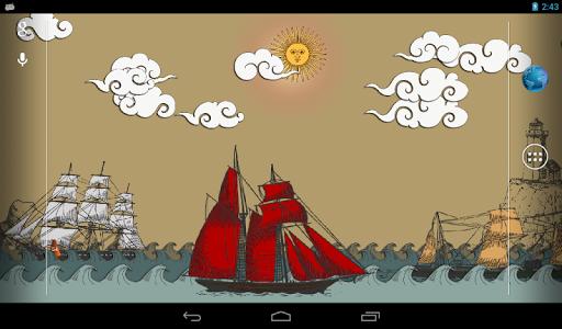 Paper Sea Live Wallpaper PRO v1.11
