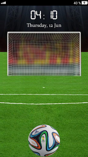 足球屏幕锁2014