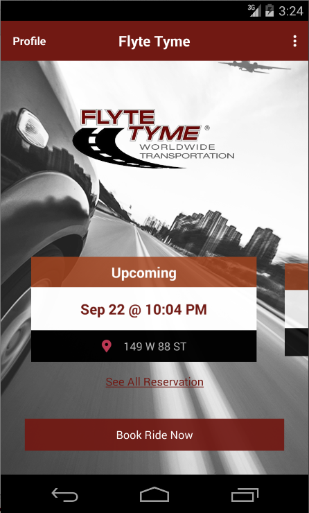 FlyteTyme Worldwide- screenshot
