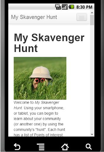 My Skavenger Hunt