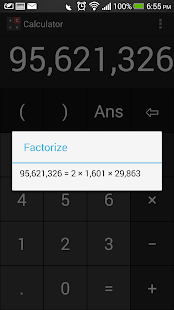 Free Calculator (Prime Factor) - screenshot thumbnail