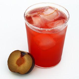 Plum Shrub Ginger Soda