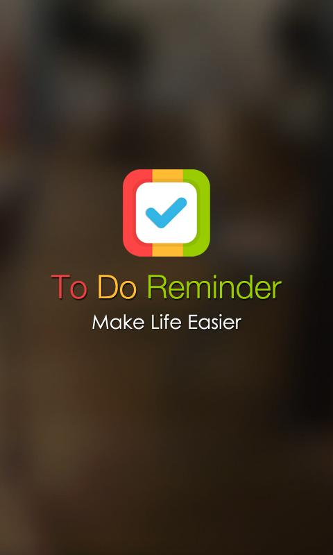 To Do Reminder - screenshot