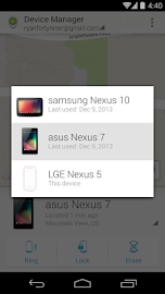 Android Device Manager Screenshot 5