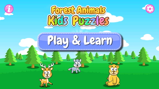 Forest Animals - Kids Puzzles