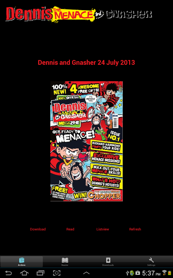Dennis the Menace MEGAzine - screenshot