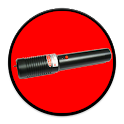 LASER LIGHT RED DOT icon