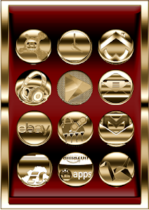 Pure Gold Icon Pack v2.0