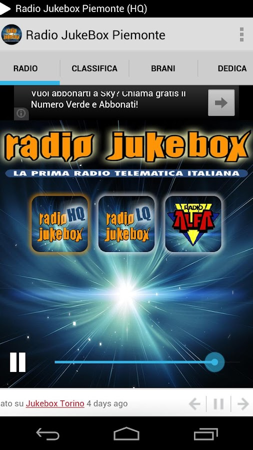 Radio Jukebox Piemonte- screenshot