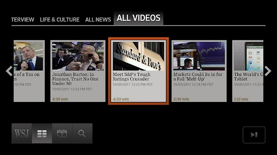 WSJ Live - screenshot thumbnail