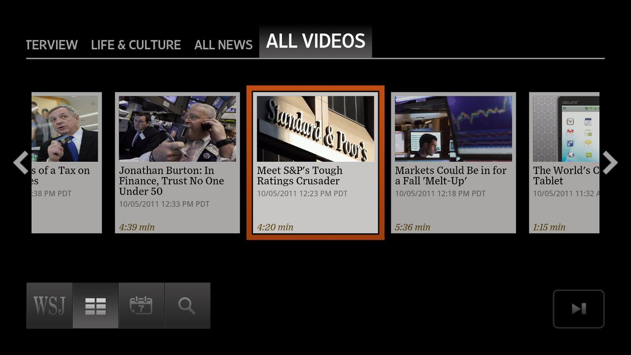 WSJ Live - screenshot