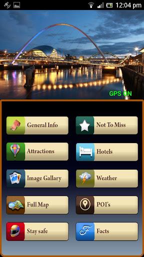 Newcastle Offline Map Guide