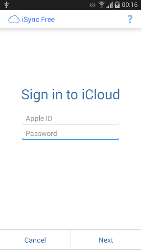 iSync Free Sync with iCloud