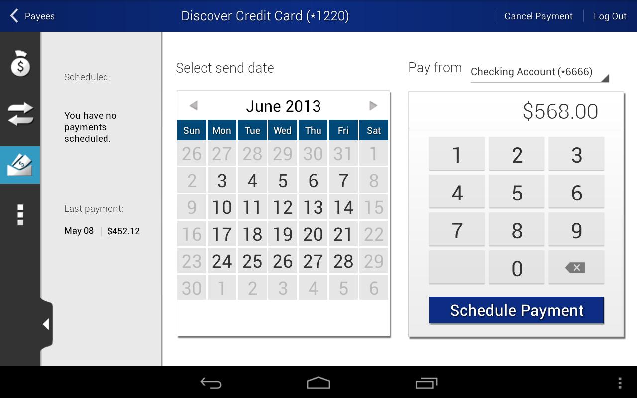 Horizons North Credit Union - screenshot