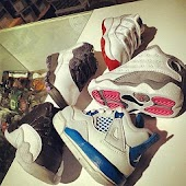 babies swag and jordans shoe