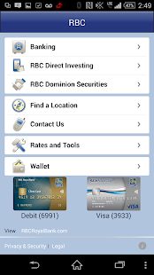 RBC Mobile - screenshot thumbnail