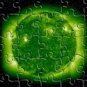8 puzzle – logic game logo