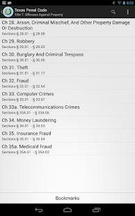 2014 TX Penal Code - screenshot thumbnail