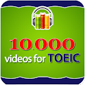 10000 Videos Learning Toeic icon