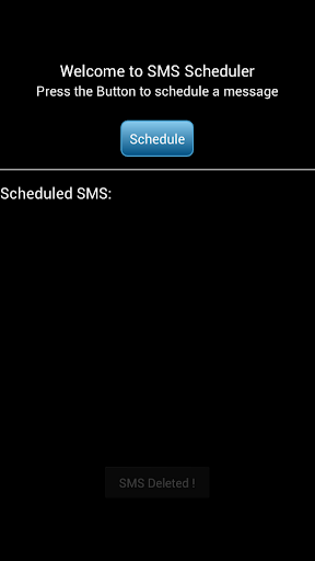 短信時間表