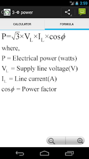 Electrical Calc & Formulas- screenshot thumbnail