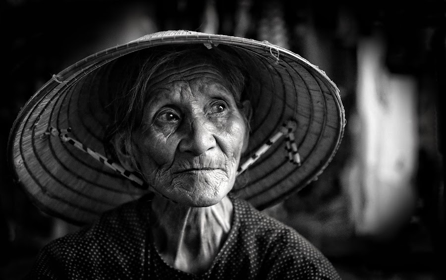 Thoughts... by Roman Mordashev - People Portraits of Women ( roman mordashev photography, black and white portrait, portrait )